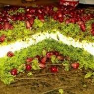 Leśny Mech ciasto szpinakowe