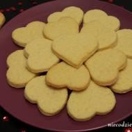 Waniliowe ciasteczka serca