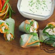 Spring rolls czyli sajgonki