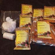 Biała kiełbasa -zestaw do domowej kuchni