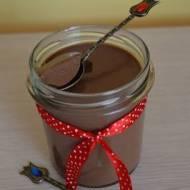 Dietetyczny deser czekoladowo-kawowy.