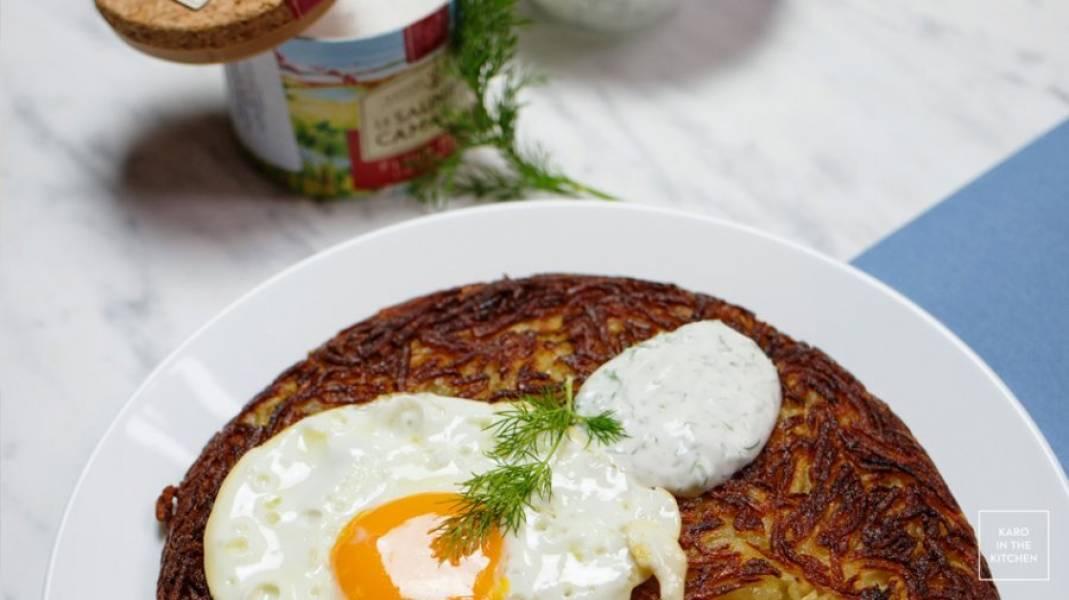 Oryginalne szwajcarskie Rösti – z ziemniaków surowych i gotowanych