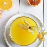 Domowy kisiel pomarańczowy