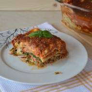 Lasagne bolognese ze szpinakiem