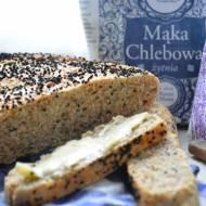 Chleb nocny pszenno-żytni z czarnuszką i kminkiem
