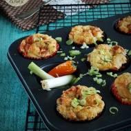 Muffinki z kaszy jaglanej wytrawne