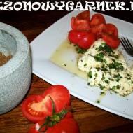 Marynowana mozzarella z pomidorem