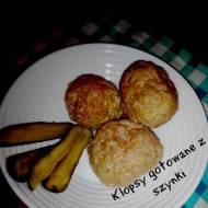 Gotowane klopsy z szynki