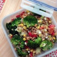 lunchbox z kaszą gryczaną