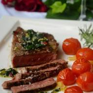 Stek z rostbefu z chimichurri