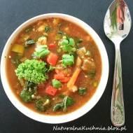 Niezwykle aromatyczna toskańska zupa warzywna. Wersja wege.  Post dr Dąbrowskiej.