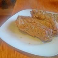 żeberka pieczone w rękawie  w piekarniku