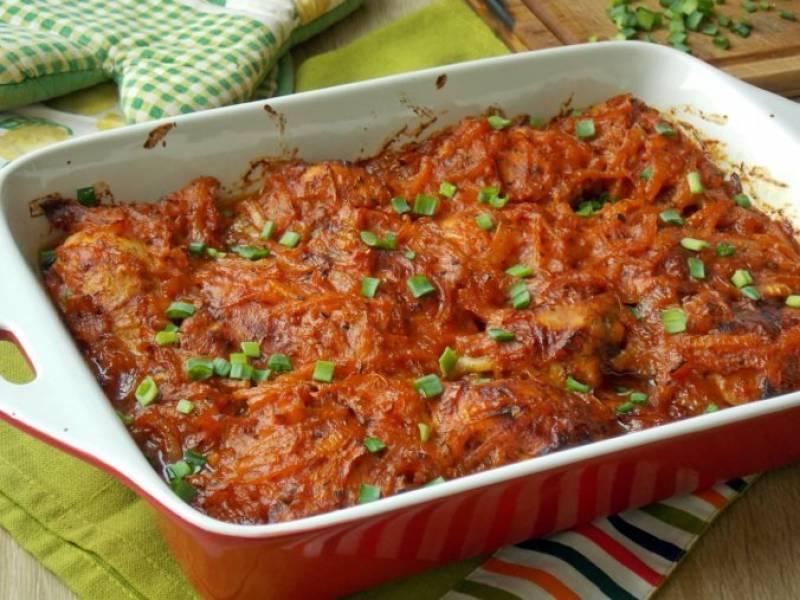 Przepis Na Udka Kurczaka Pieczone W Sosie Pomidorowym Https