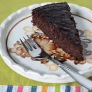 czekoladowo-pomarańczowe ciasto bez mąki i tłuszczu