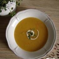 Ekspresowa zupa krem ogórkowa dla dzieci