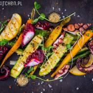 Sałatka z ośmiornicą i warzywami