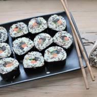 Sushi z komosą ryżową po polsku
