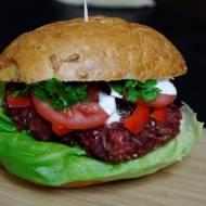 Burgery buraczane, czyli wegetariański pomysł obiad