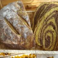 Dyniowo-kakaowy  chleb