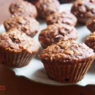 Ekspresowe  fit muffinki bakaliowe