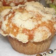 Muffiny drożdżowo-pomarańczowe