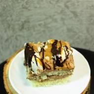 Ciasto kakaowe z bezą