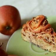 Lekkie bezglutenowe ciasto z jabłkami