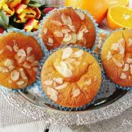 Muffinki pomarańczowe z serkiem