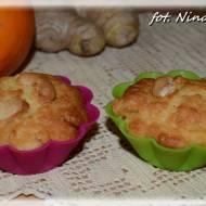 Muffinki pomarańczowo imbirowe wypiekane wieczorową porą