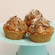 Muffinki z masą kajmakową