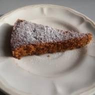Ciasto marchewkowe z wiórków z sokowirówki