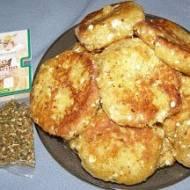 ziemniaczano-jajeczne kotlety z pesto peperoncino...