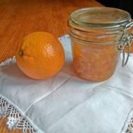 skórka pomarańczowa kandyzowana