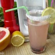 Lemoniada cytrynowo-grejpfrutowa