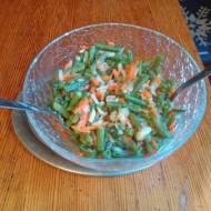 fasolka szparagowa inaczej z warzywami -dodatek do obiadu