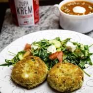 Kotlety jajeczno – jaglane z zupą krem z pomidorów