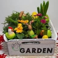 Wiosenno - wielkanocny ogród