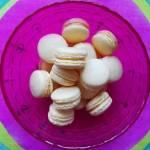 Mini-makaroniki cytrynowe z rozmarynem