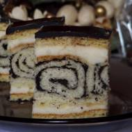 Ciasto Makowy Ślimaczek