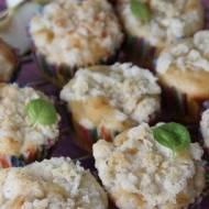 Muffinki z jabłkami i kruszonką