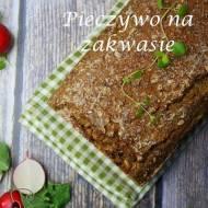 Razowy chleb wieloziarnisty na zakwasie