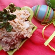 Jajeczna pasta z wędzonym łososiem