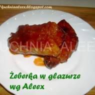 Żeberka w glazurze wg Aleex