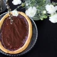 Mazurek czekoladowa pisanka