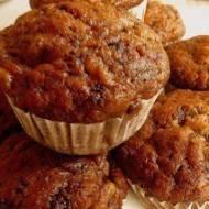 Muffinki cappucino z bananami