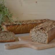 Chleb razowy żytnio-orkiszowy z ziarnami