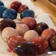Naturalne barwienie jajek wielkanocnych