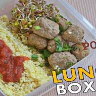 Pomysł na Lunch Boxa #9 - Pulpety z Kaszą Jaglaną