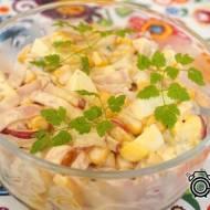Sałatka majonezowa z jajkiem i rzodkiewką
