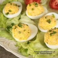 jajka faszerowane wędzoną makrelą